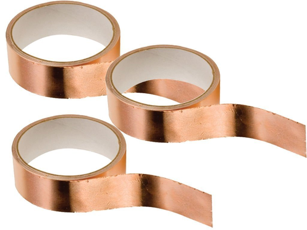 Copper Slug Tape Multibuy 3 x 4m rolls Venture tape