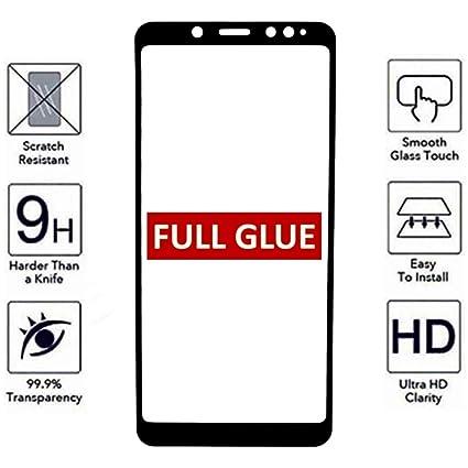 Todo Phone Store - Protector Pantalla Antigolpes Cristal Templado Completo Full Glue Negro para XIAOMI REDMI