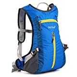 OUTAD 15L (4 gal) Lightweight Backpack with Helmet Net for Riding, Cycling, Hiking, Camping, Climbing, Backpacking, Skiing, Snowboarding