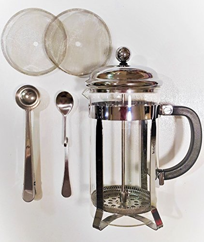 French Press Coffee Maker Problems : Classic French Press Coffee, Expresso & Tea Maker Complete Bundle Set 34 Oz, 8 Cups Best ...
