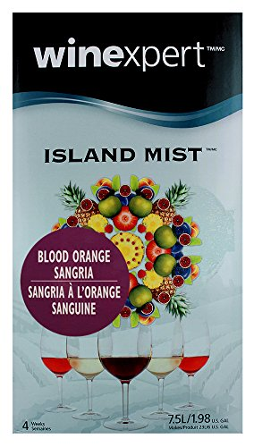 Island Mist Blood Orange Sangria 7.5 Liter Wine Making Kit