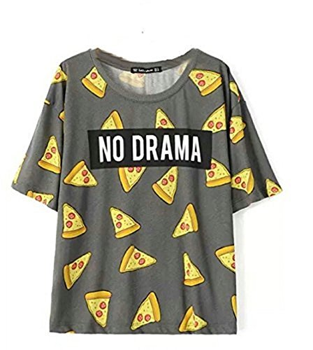 aurora-womens-tops-pizza-letters-print-t-shirt-cute-cake-short-sleeve-size-l-dt172