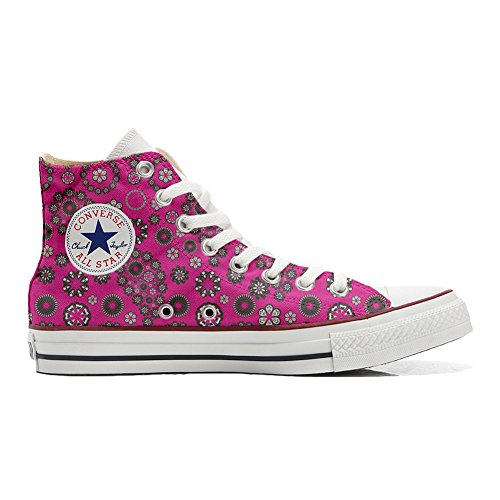 Converse Hot Producto All Star Paysley Handmade Unisex Personalizados Pink Zapatos AFA7rq