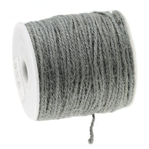 Nice 100 Meter Roll Gray Color Jute Twine String [Office Product] hot sale