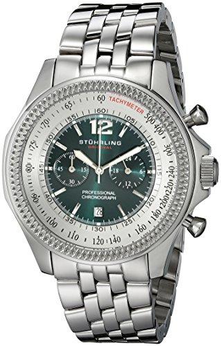 Stuhrling Original Men's 176B2.33115 Octane Targa 24 Pro Chronograph Watch