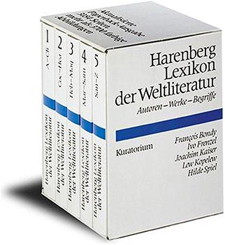 Harenberg Lexikon der Weltliteratur