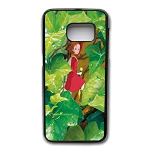 Generic Fashion Hard Back Case Cover Fit for Samsung Galaxy S7 Cell Phone Case black The Secret World Of Arrietty with Free Tempered Glass Screen Protector EUI-8469021