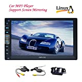 EinCar 7 inch HD Bluetooth Car MP5 Player Capacitive Touch Screen FM Radio Car Video Audio