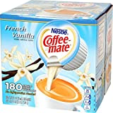Nestle Coffee-mate Coffee Creamer, French Vanilla, (0.375 oz) Liquid Creamer Singles - 180 Count