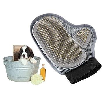 Winnew - Guantes profesionales para el cuidado de mascotas, mejor cepillo para el cuidado de