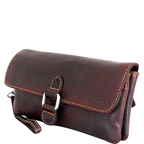 Voyager Clutch Brown Size Wristlet Georges Jack Brown Women's One EIqAOw1