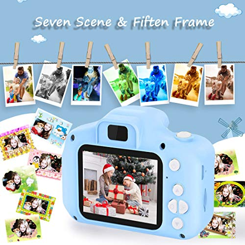 Video Camera for Kids,hyleton 1080P FHD Digital Kids Camera Camcorder Video Recorder with 2.4 Screen for Age 3-10