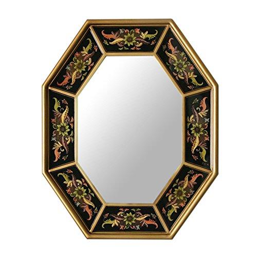 NOVICA Mirror, Dawn Garlands by NOVICA