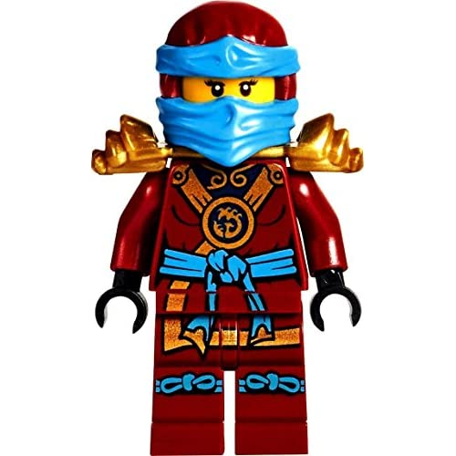Lego Ninjago Minifigurine Deepstone Nya With Weapons 80off