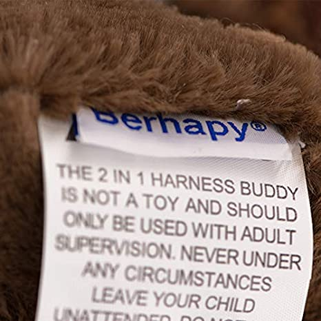 Berhapy 2 in 1 Naughty Dog Toddler Backpack Harness with Safety Leash for Children/â/â/'/¬s Walking