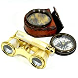 Nautical Brass Compass Maritime Collectibles Gift Antique Finish Decor Gift Item