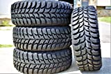 305/70R17 Tires - Set of 4 (FOUR) Crosswind M/T Mud-Terrain Radial Tires-LT305/70R17 119/116Q LRD 8-Ply
