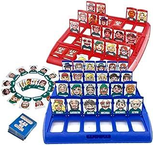 Dorime ¿Quién es el clásico Juego de Mesa Divertidos Juegos de adivinanzas de la Familia de los niños Los niños de Juguete de Regalo Se: Amazon.es: Hogar