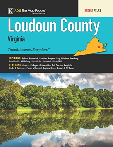Loudoun County, VA Street Atlas Kappa Map