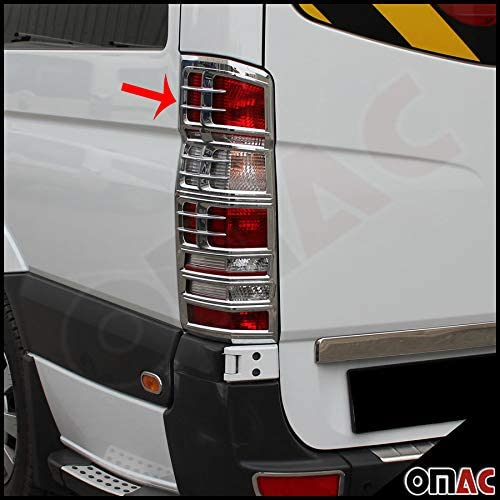 Rücklicht Rahmen Rückleuchten Chrom Abs R L Für Sprinter W906 Ab 2006 Auto