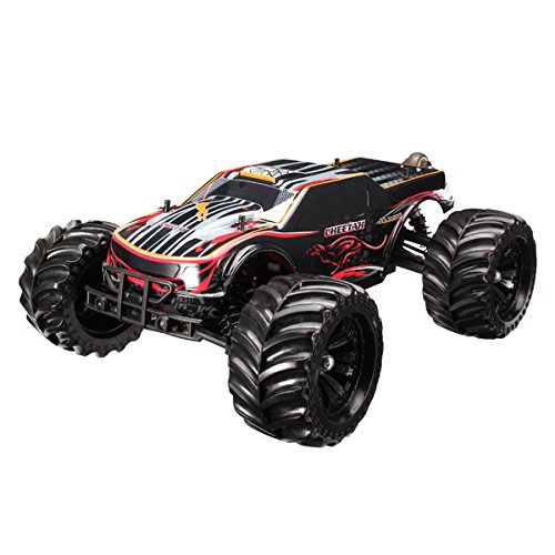 New JLB Racing CHEETAH 1/10 Brushless RC Car Monster Trucks 11101 RTR By KTOY