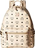 MCM Women's Stark Side Stud Small Backpack Beige One Size