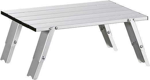 Uquip Handy - Mesa de aluminio plegable - 2 alturas seleccionables ...