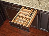 Rev-A-Shelf - 4WTCD-21SC-1 - Extra Large Double Tiered Cutlery Drawer with Soft-Close Slides