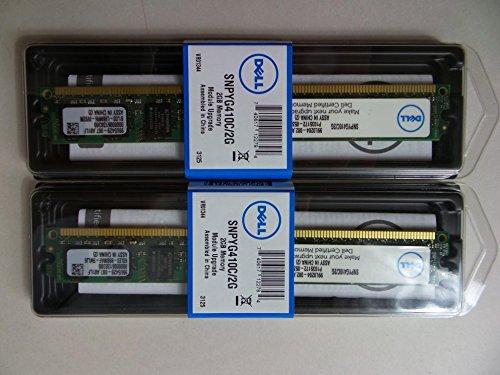 DELL 4GB  2Rx8 PC2-6400U SNPYG410C/2G A6993648 for Vostro