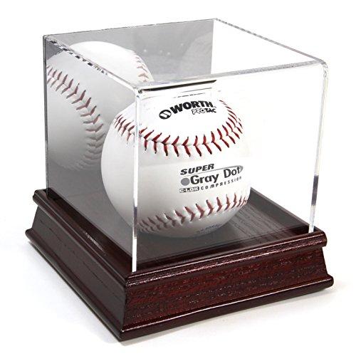 Softball Acrylic Display Case