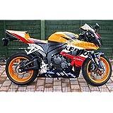 Orange Black Red Fairing Bodywork Injection for 2003-2004 Honda CBR 600 RR F5