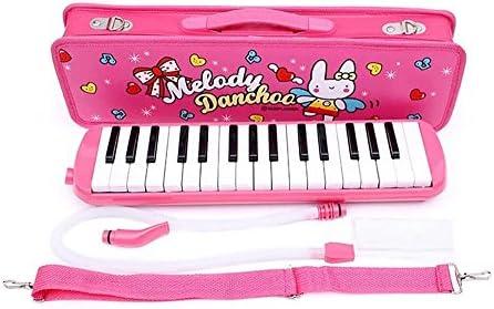 SAHASAHA 건반 하 모니카 (멜로디 피아노) 귀여운 핑크 블루 32 키 (핑크) / SAHASAHA Keyboard Harmonica (Melody Piano) Cute Pink Blue 32 Keys (Pink)