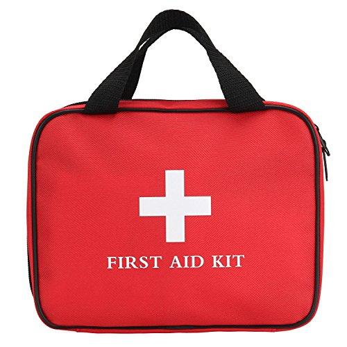 First Aid Kit, iSuri 124 Pieces FDA Certified Emergency F...