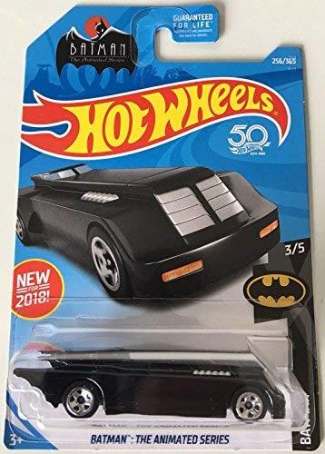 - Hot Wheels 2018 DC Batman  Batman: The Animated Series Batmobile 256/365, Black