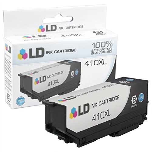 LD Remanufactured Ink Cartridge Replacement for Epson 410XL High Yield Black