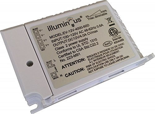 12V 48W Dimmable CV DC LED Driver ETL (UL) approved