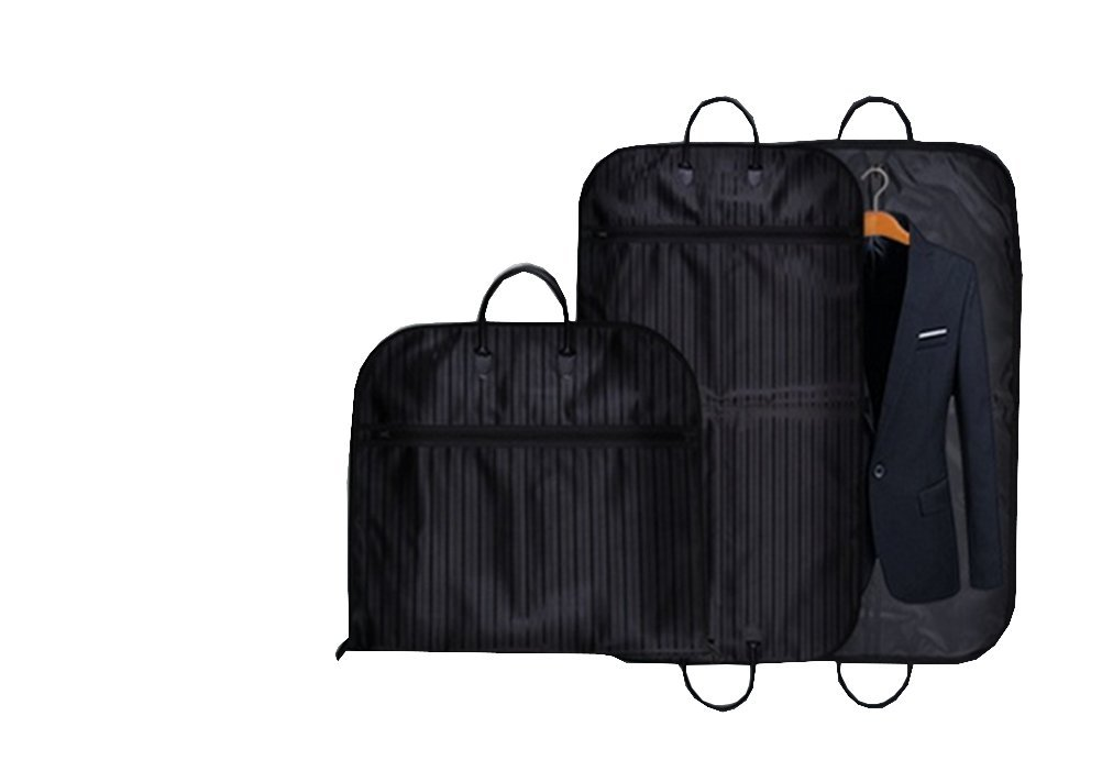 One/_Size, Red Travel and Storage Garment Bag Shirt and Dress Cover Shower Proof with Large Zip Opening Suit