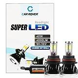 40W LED Bulb 9007,LED Headlight Kit 9007,CAR ROVER Canbus Car LED Conversion Kit,LED Fog Lights for Trucks