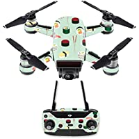 Skin for DJI Spark Mini Drone Combo - Sushi| MightySkins Protective, Durable, and Unique Vinyl Decal wrap cover | Easy To Apply, Remove, and Change Styles | Made in the USA