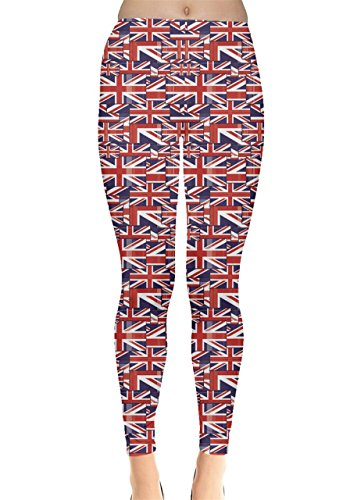 union jack leggings - 1