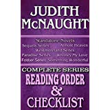 JUDITH McNAUGHT: SERIES READING ORDER & BOOK CHECKLIST.: SERIES LIST INCLUDES: ALL STANDALONE NOVELS, SEQUELS, WESTMORELAND, PARADISE & FOSTER SERIES (Top ... Authors Reading Order & Checklists 2)