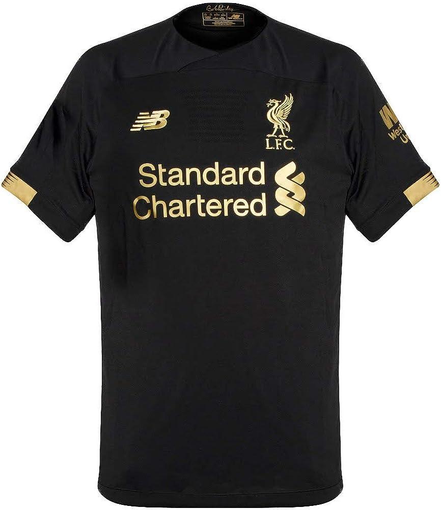 New Balance Men's Liverpool FC Goalkeeper Short Sleeve Jersey
