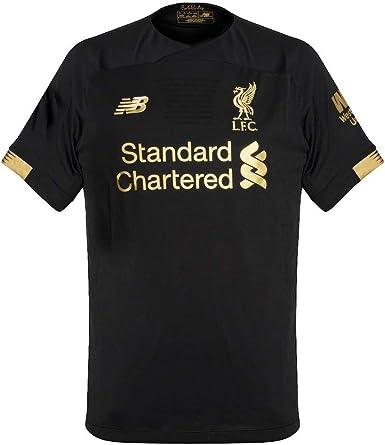 Amazon Com New Balance Men S Liverpool Fc Goalkeeper Short Sleeve Jersey Clothing