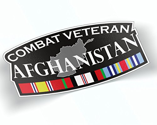 Afghanistan Veteran Sticker Campaign Decal 8