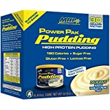 MHP Power Pak High Protein Pudding, Vanilla, 8.8 Ounce, (Pack of 6)