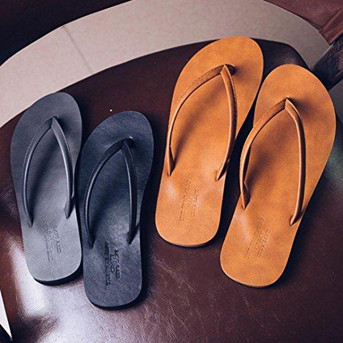 Sportivi Promozione Sport Interni Casual Scarpe Esterni Outdoor ed Chenang Spiaggia Uomo per Scarpe Grande da Uomo Estivo Infradito Sandali Pantofole Marrone da Sandali 5qxwTtHI