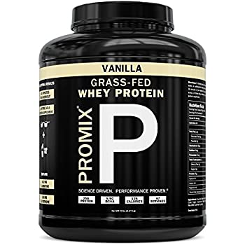 ProMix Nutrition Grass Fed Whey Protein, Vanilla, 5 lb