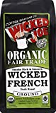 Wicked Joe Coffee Wicked French Dark Roast, 12 Ounce (Pack of 6)
