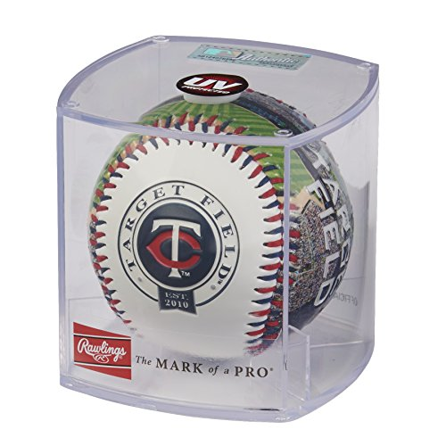 Rawlings MLB Minnesota Twins 05860028111MLB Stadium Baseball (All Team Options), Blue, One ()