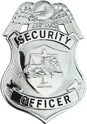 Tactical 365 Operation First Response Security Officer Shield - Security Gold Badge